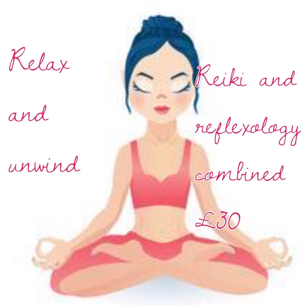 Reiki and reflexology combined
