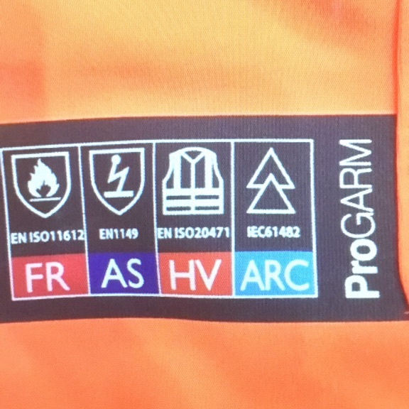 Progarm new HV orange trousers with tags
