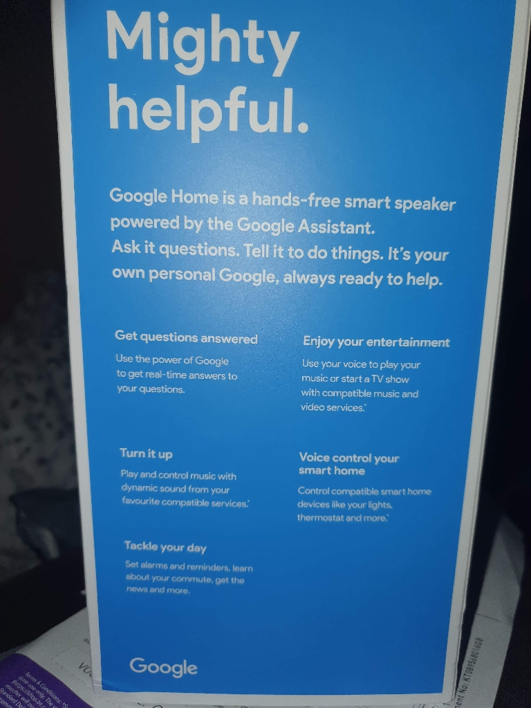 Google home new boxed sealed