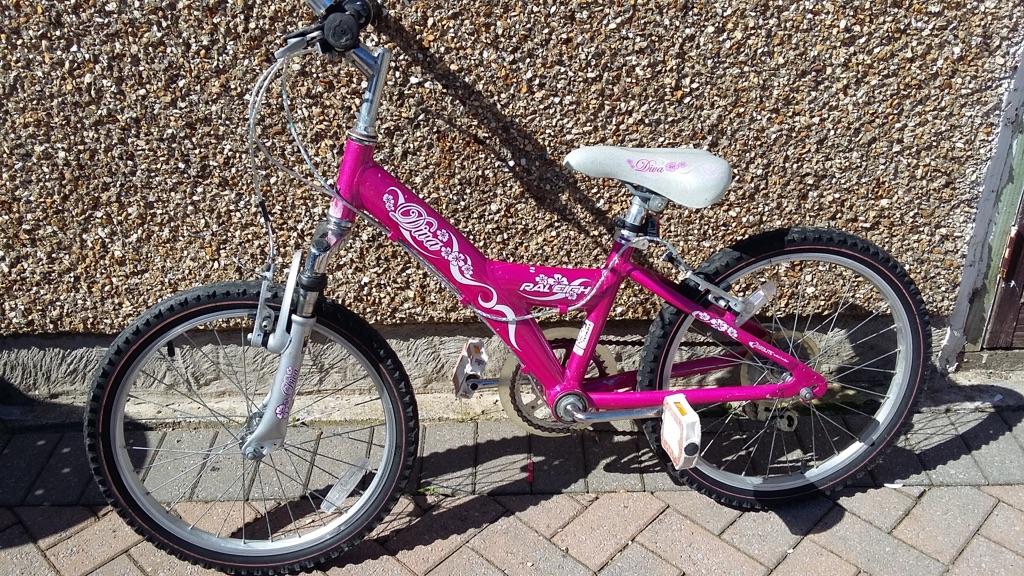 Raleigh girls bike