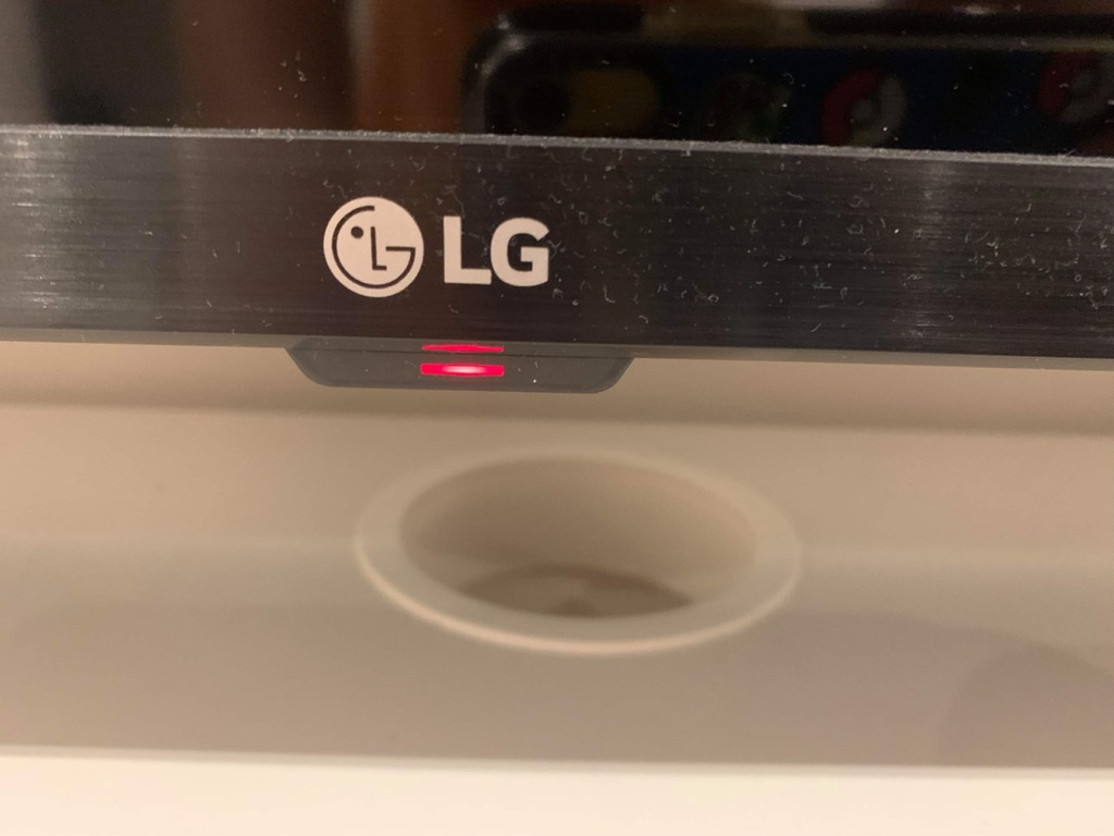 New LG TV in Fulham