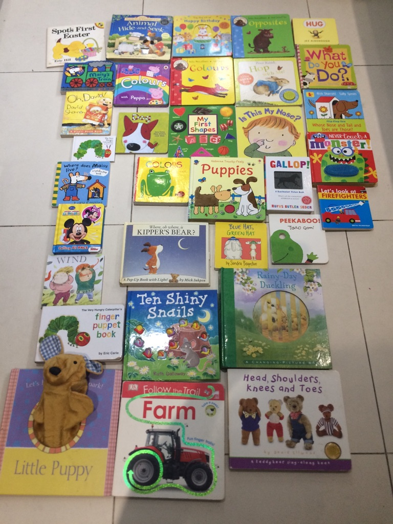 Baby Toddler books