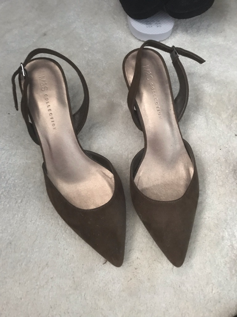 M and S Brand New Brown Shoe