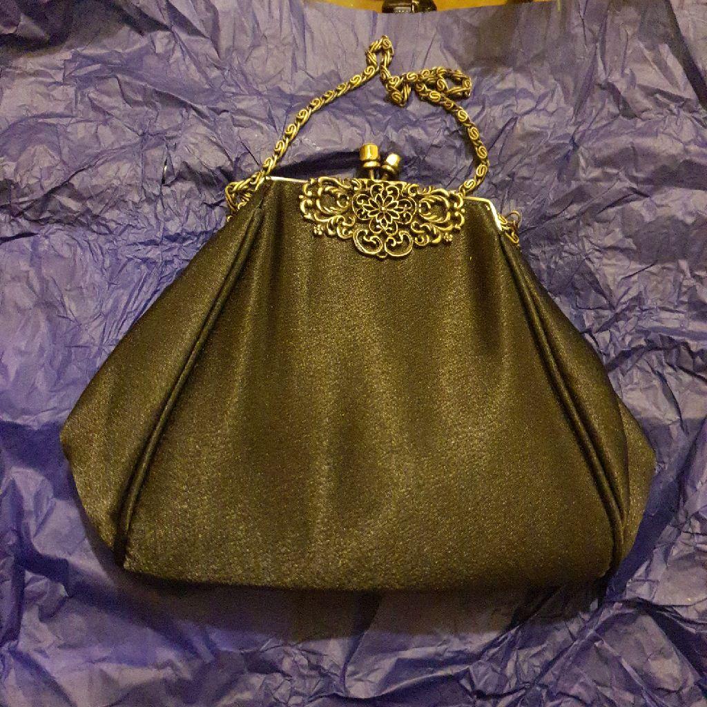 Silk gatsby 1920s bag