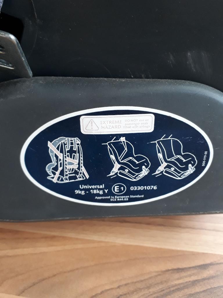 Britax Reclining Car Seat