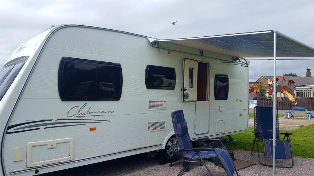 Fiamma caravan store canopy