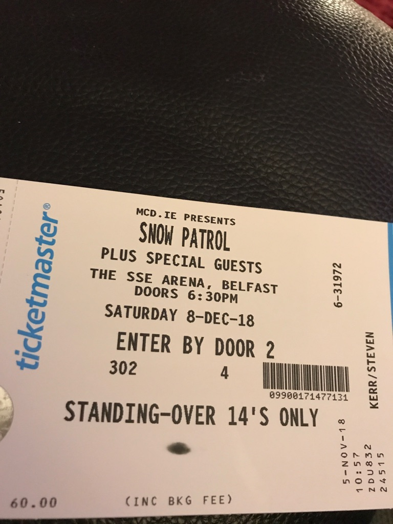 Snow Patrol tickets