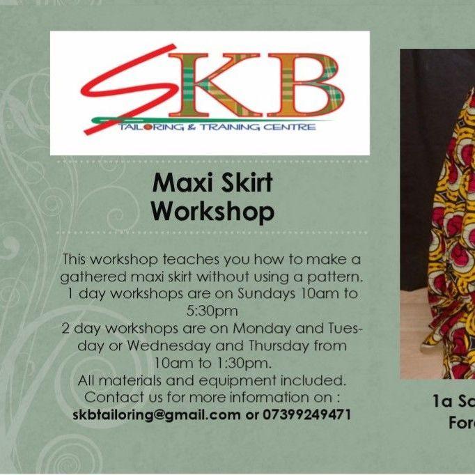 Maxi Skirt Workshop