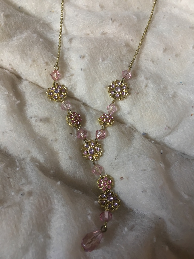 Woman's beautiful necklace