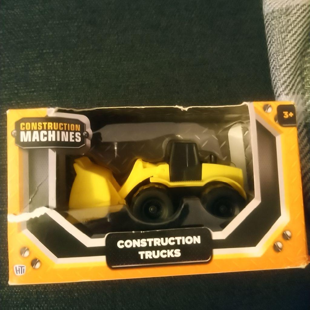 Hti toys UK construction trucks