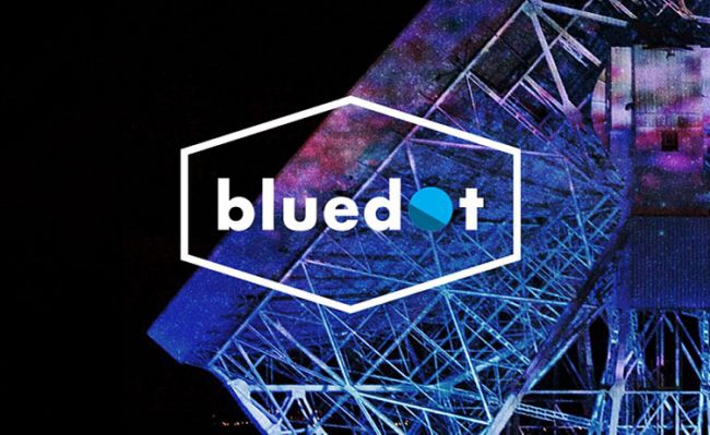 2 tickets to Blue Dot festival