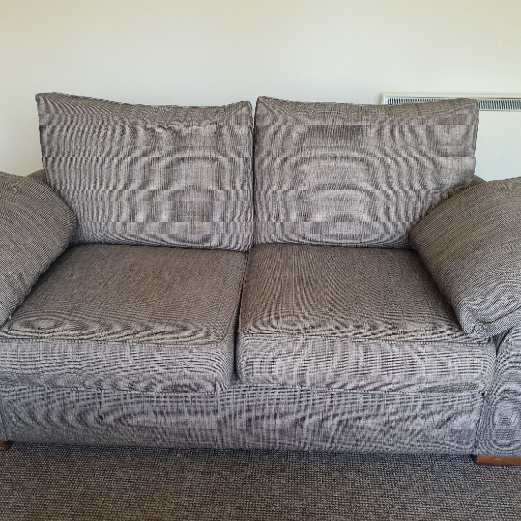 2 seater sofa with a matching chair from Next..
