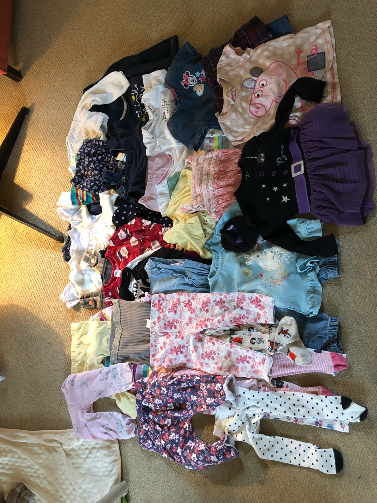 Baby girl bundle 6-12 months