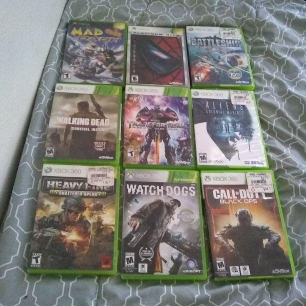 Xbox 360 an Xbox games