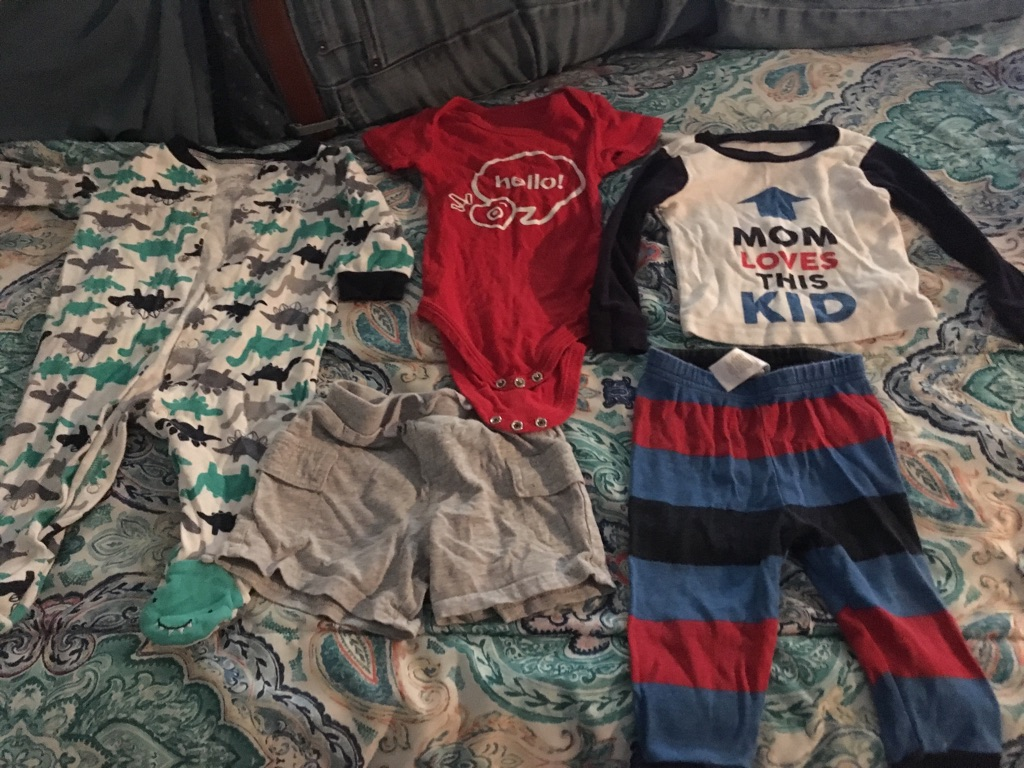 Boy clothes 3-6m, 6m, & 6-9m