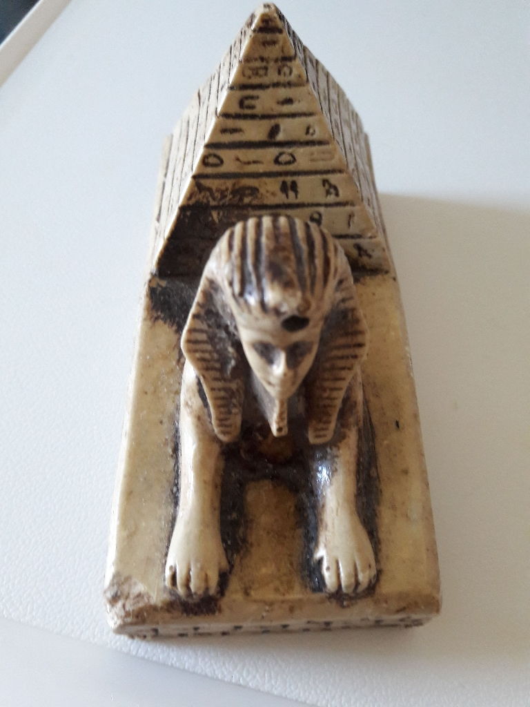 Ivory Egyptian ornament