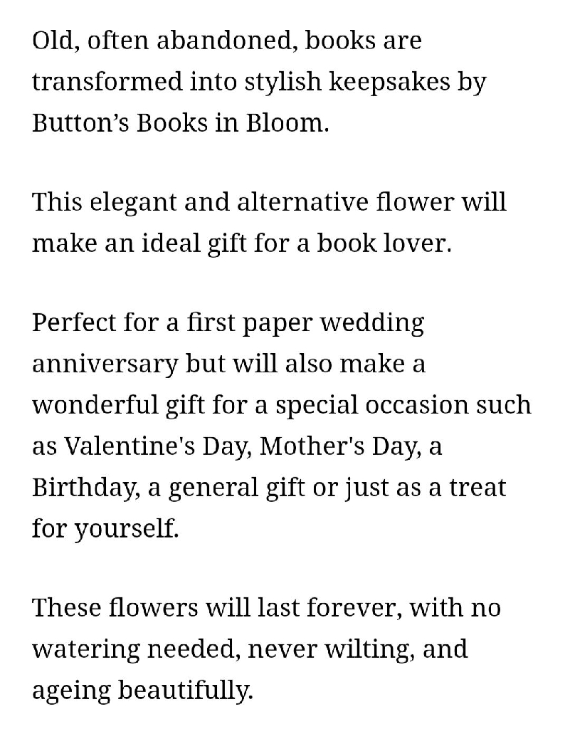 Button's Books in Bloom