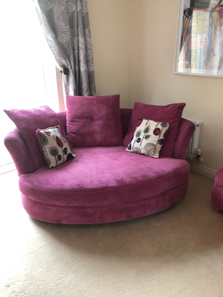 Dfs sofas and storage footstool