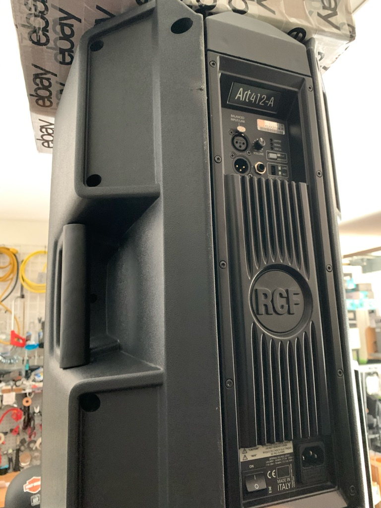 Rcf Art 412 powered speakers