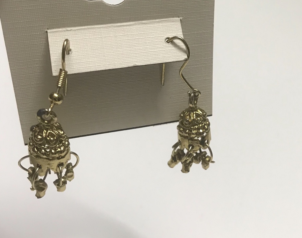 Gold color earrings/studs