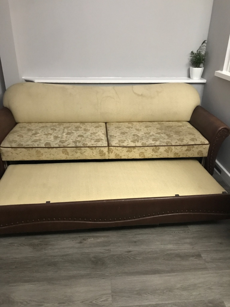 3seater sofa bed
