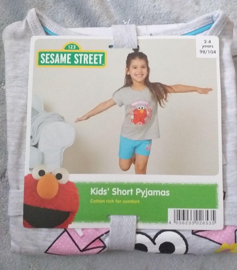 Kids girls pyjama 2-4 years 98/104 cm. New