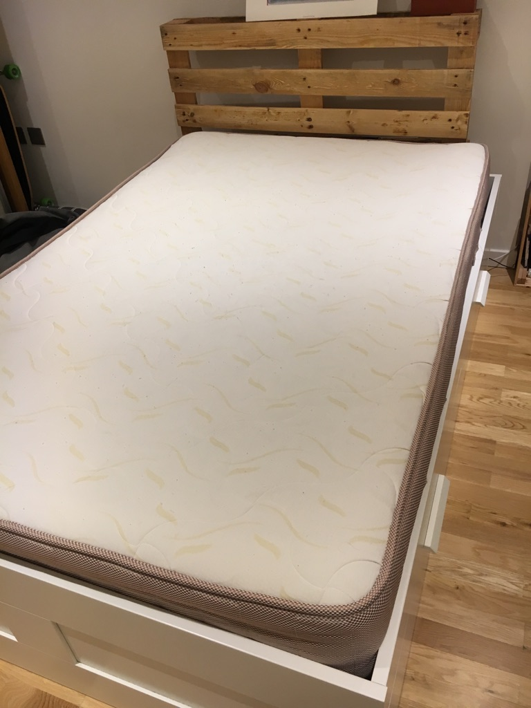 1500 pocket memory foam mattress