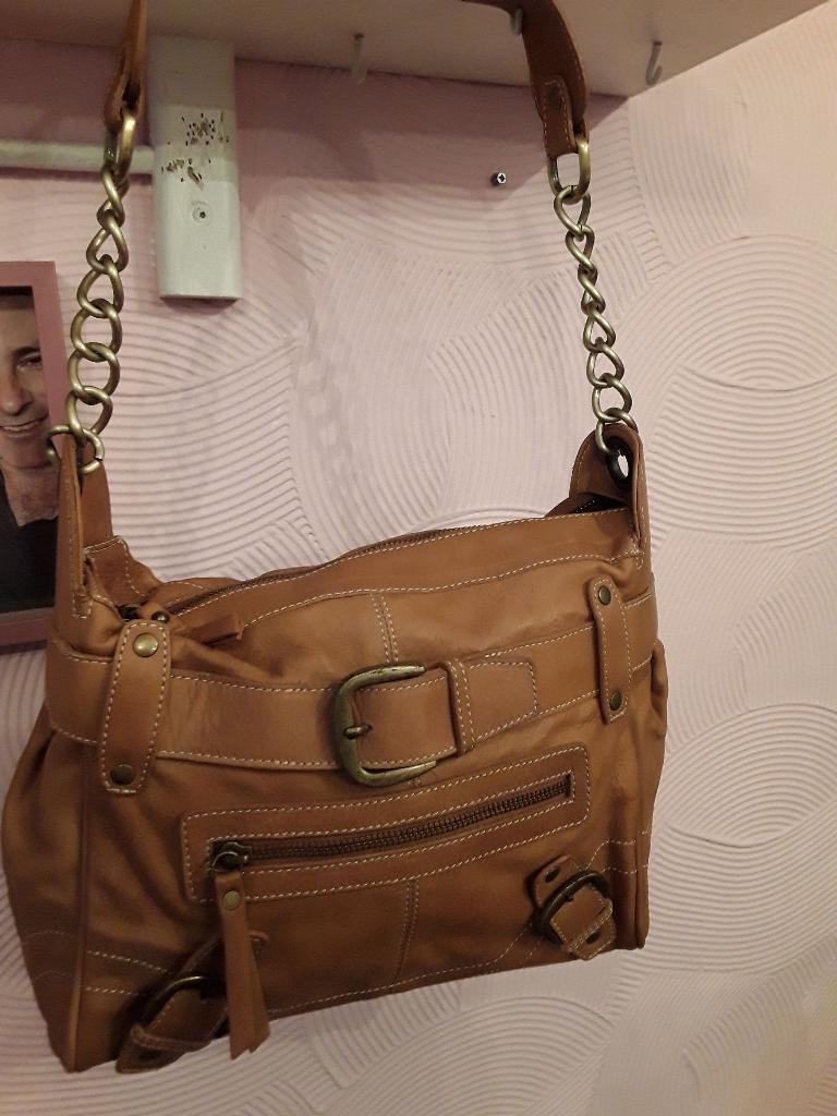 New Tan Leather Bag