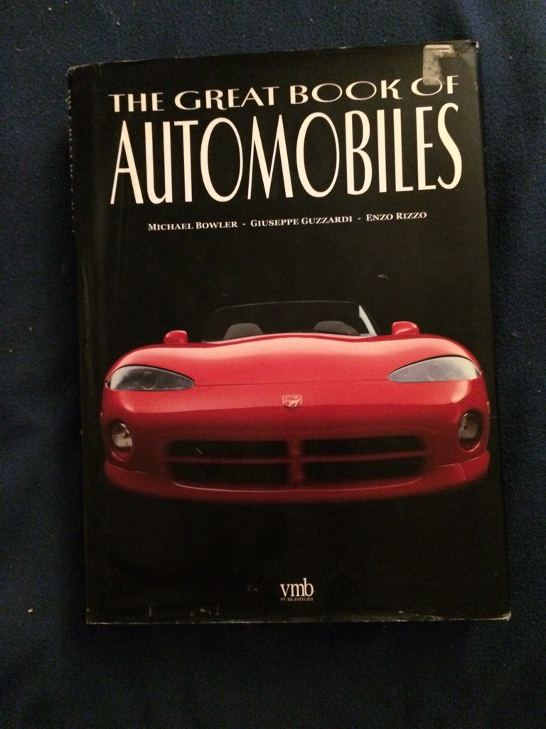 The Great Book of Automobiles