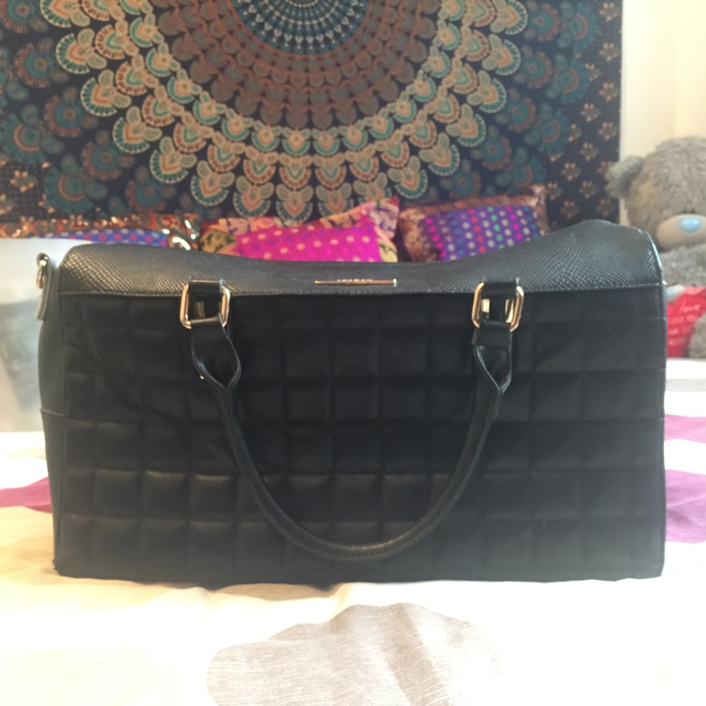 River island big travel bag