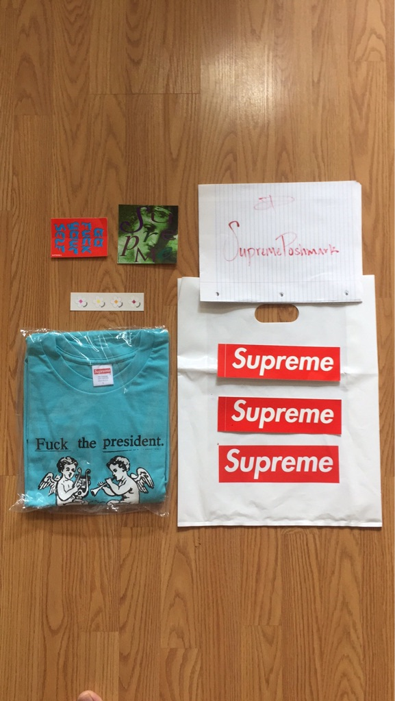Supreme Fuck The President Tee
