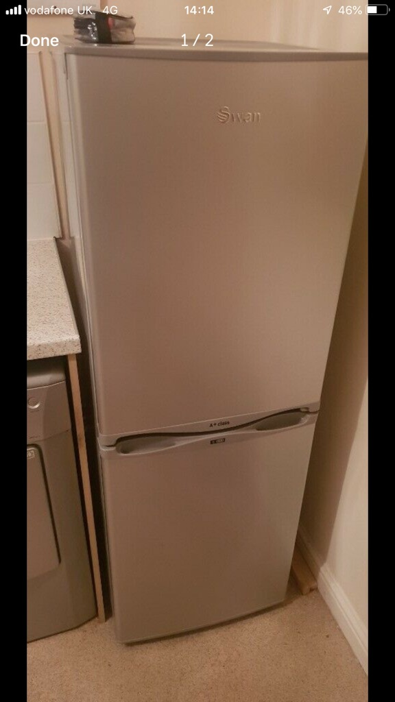 Swan fridge freezer perfect condition