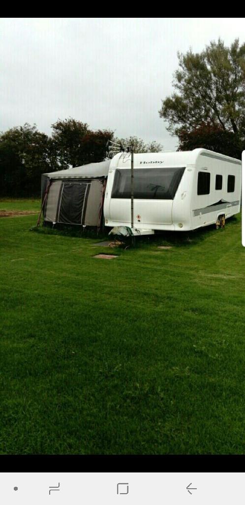 Hobby caravan 650 wfu 2011 model