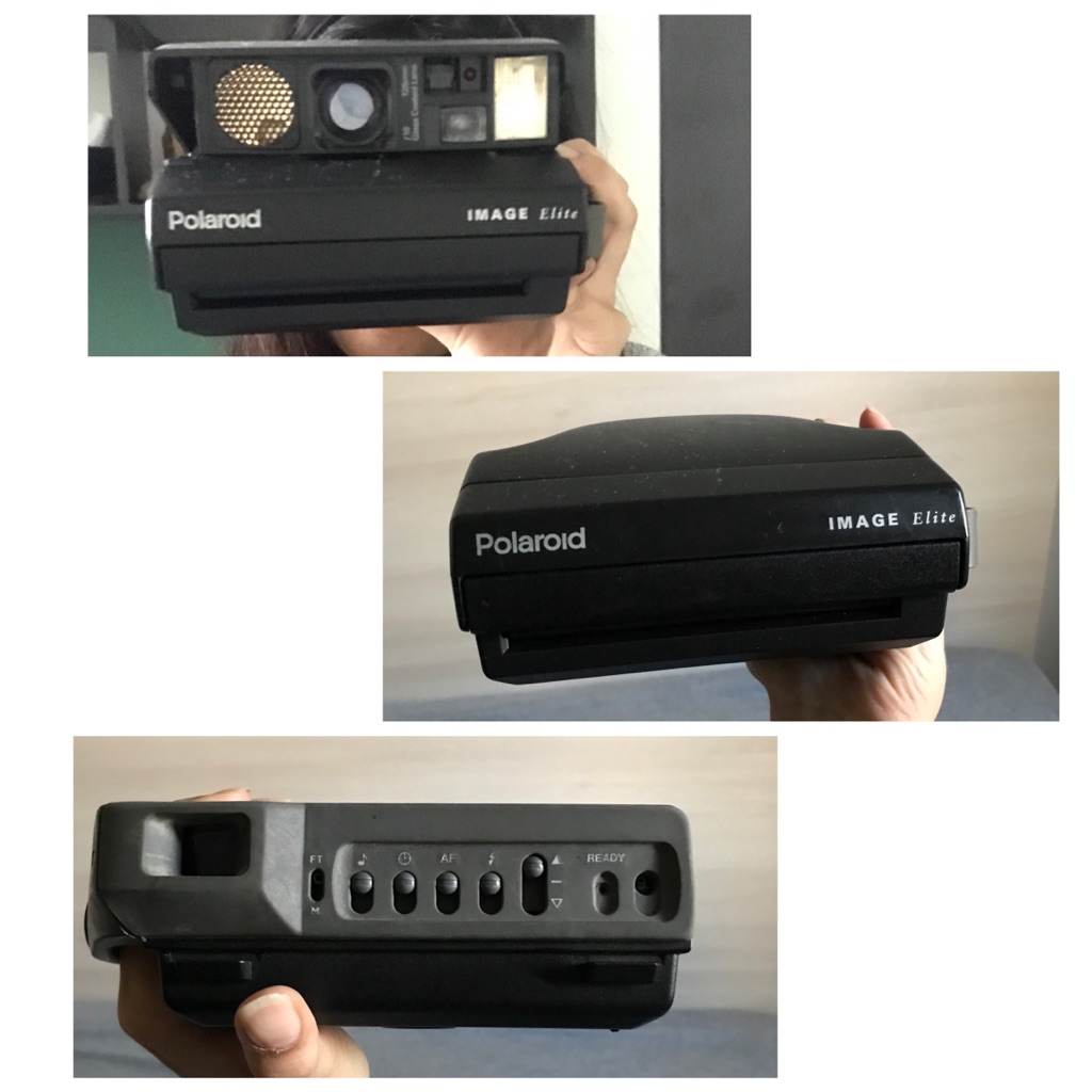 Polaroid camera image elite