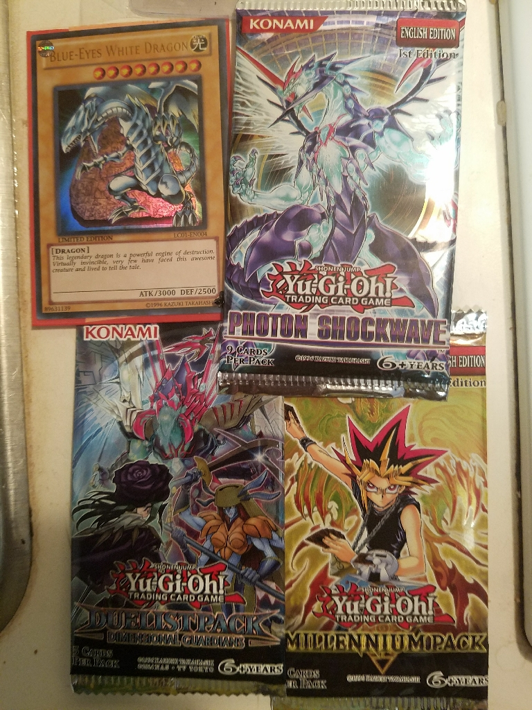 Yu-Gi-Oh Booster Packs 2 Cards New