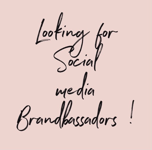 Social media brandbassadors wanted