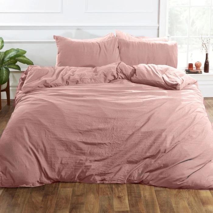 Washed Linen Duvet Set