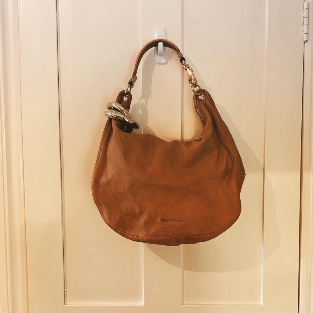 Jimmy Choo Bag Tan Leather