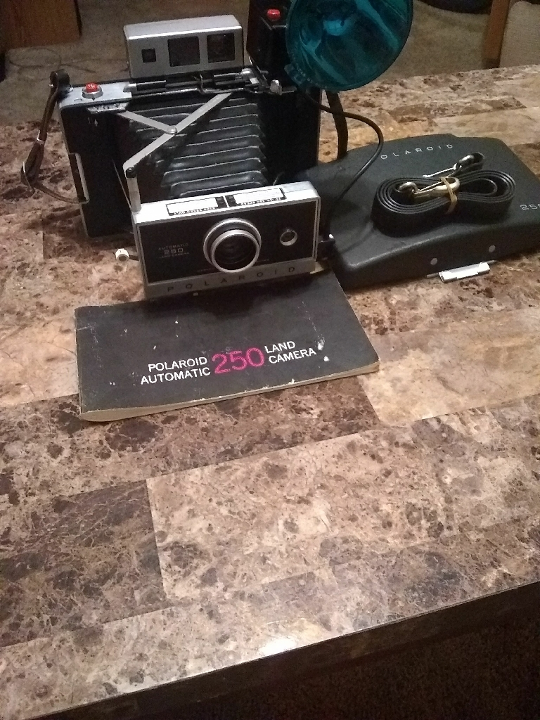 Polaroid 250 camera
