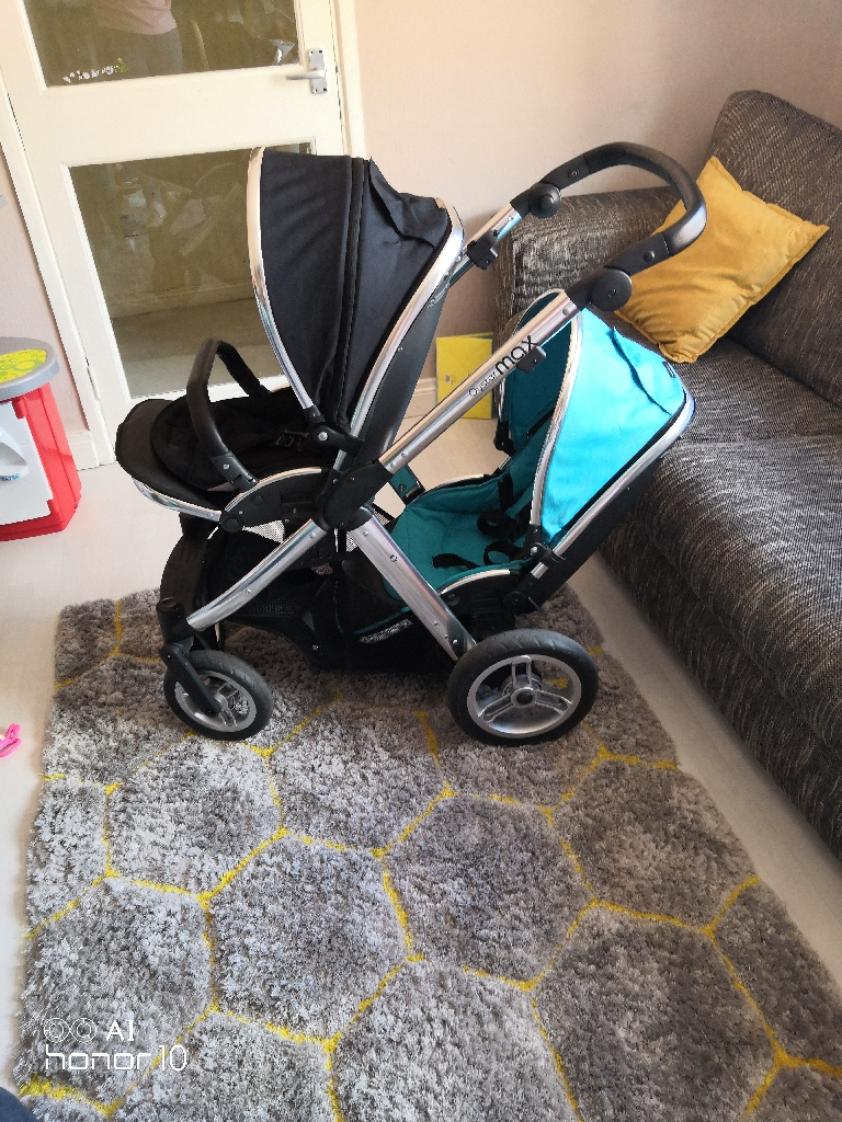 Oyster max double /single pram