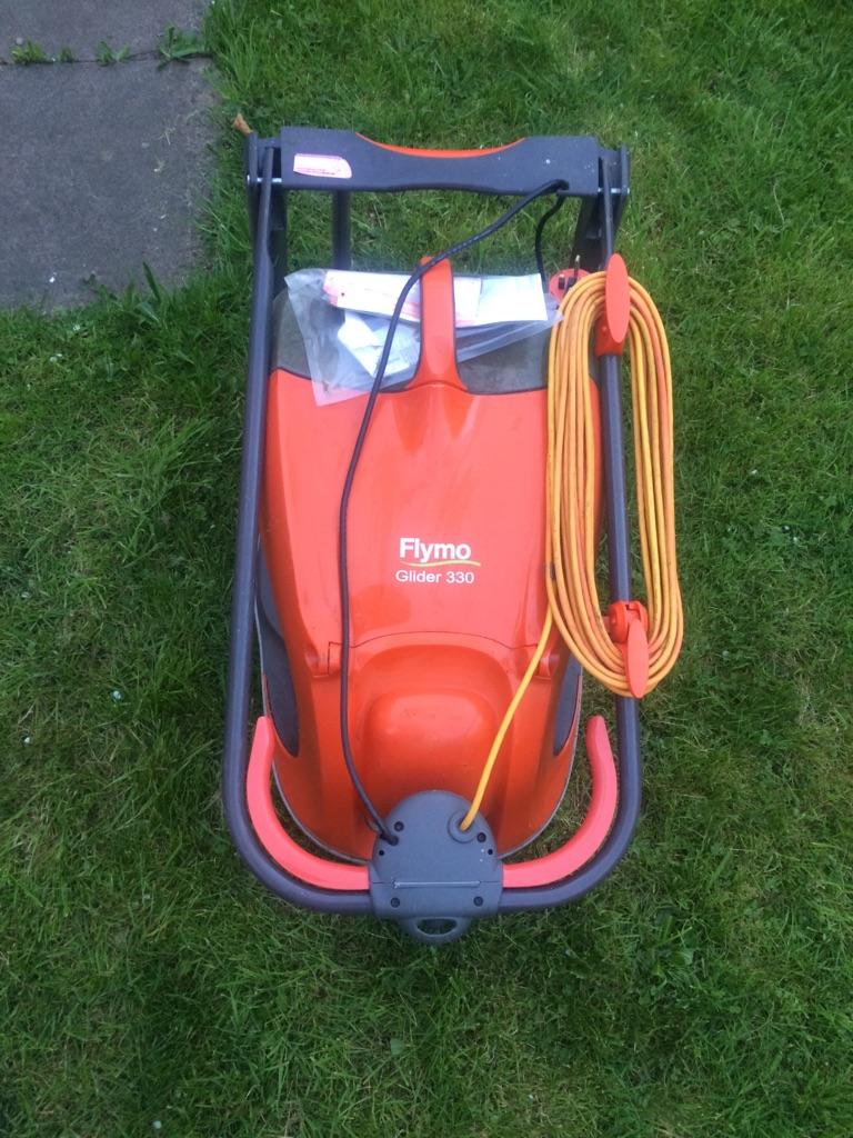 Flymo lawn mower 330 glider
