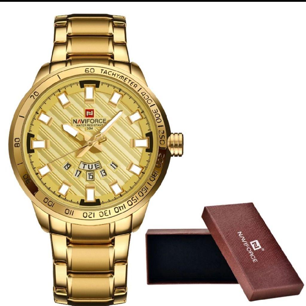 Luxury waterproof men's watch.