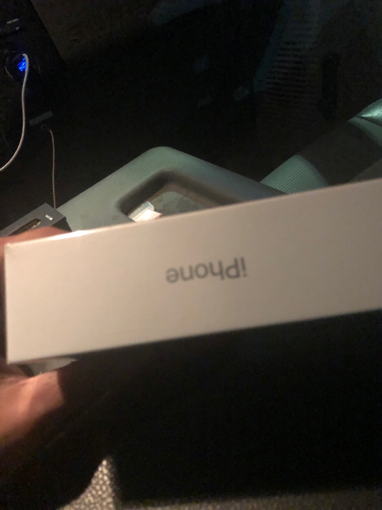 Unopened white iPhone XR 64gb
