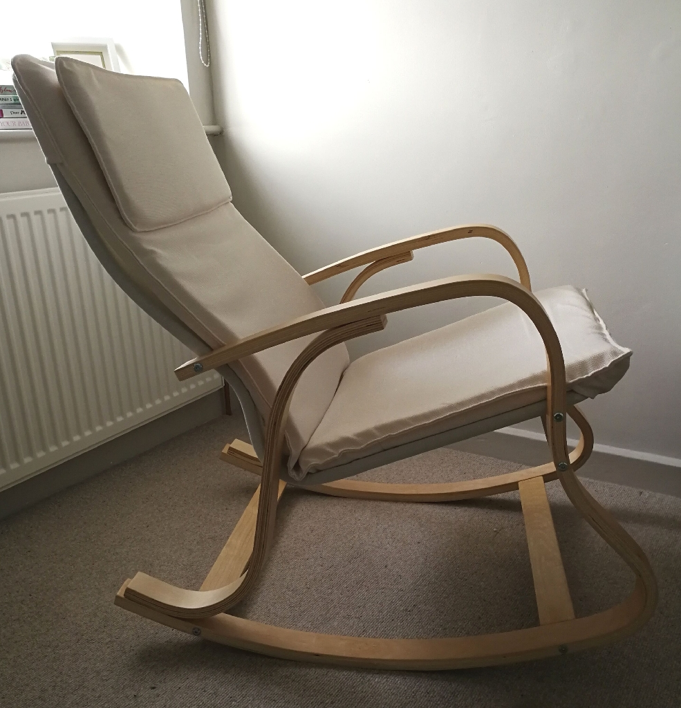 Scandi Nursing Rocking Chair