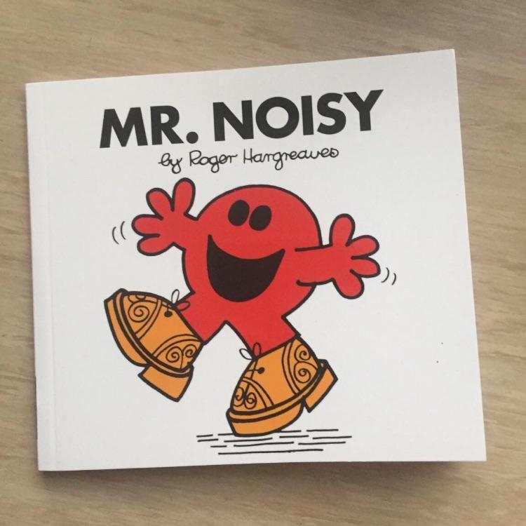 Mr Noisy book