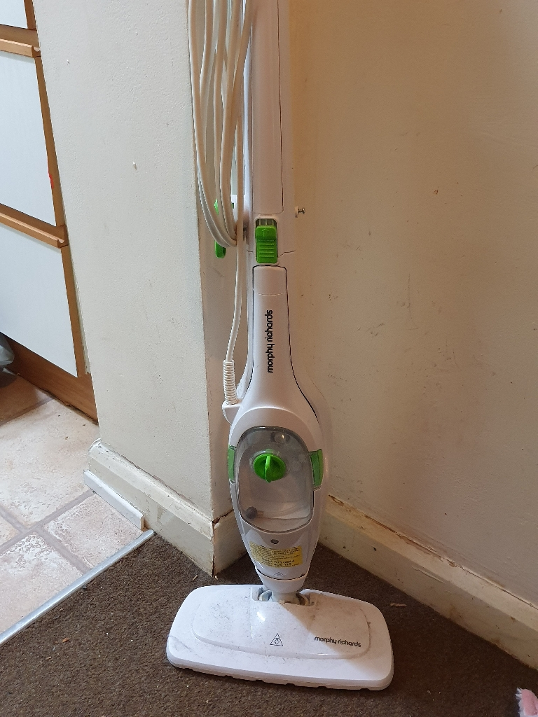 Upright & Handheld Steam Cleaner