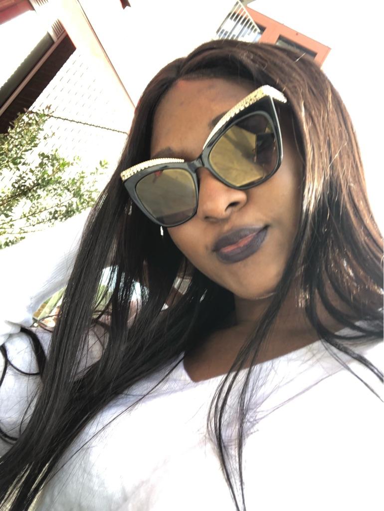 New Black & Gold Moschino Sunglasses