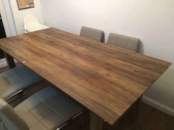 Next furniture - Chiltern oak extendable dining table - GREAT CONDITION