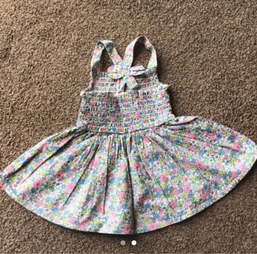 Baby girl floral dress 0-3 months