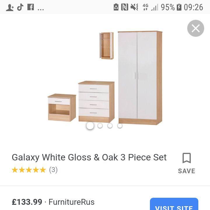 Wardrobe n matching drawers
